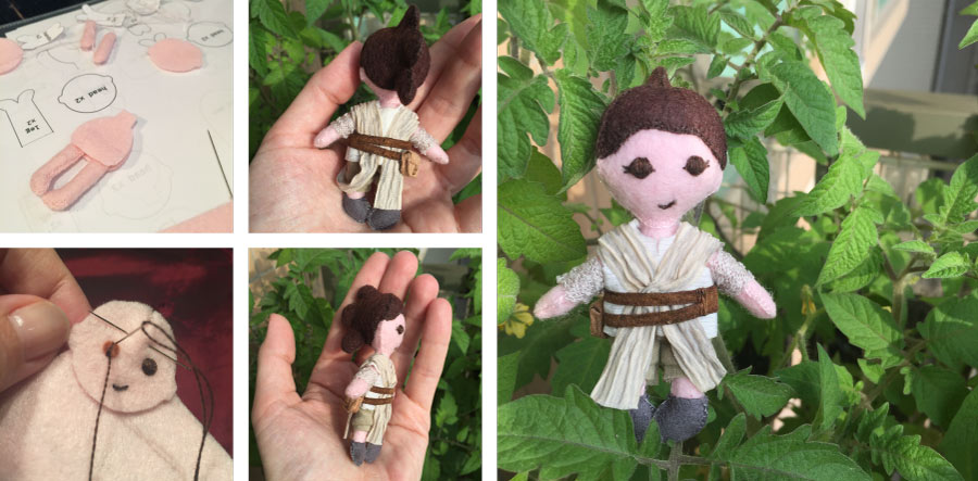 Rey Doll, Star Wars, Tribute, International Women's Day, Bridget, womens day
