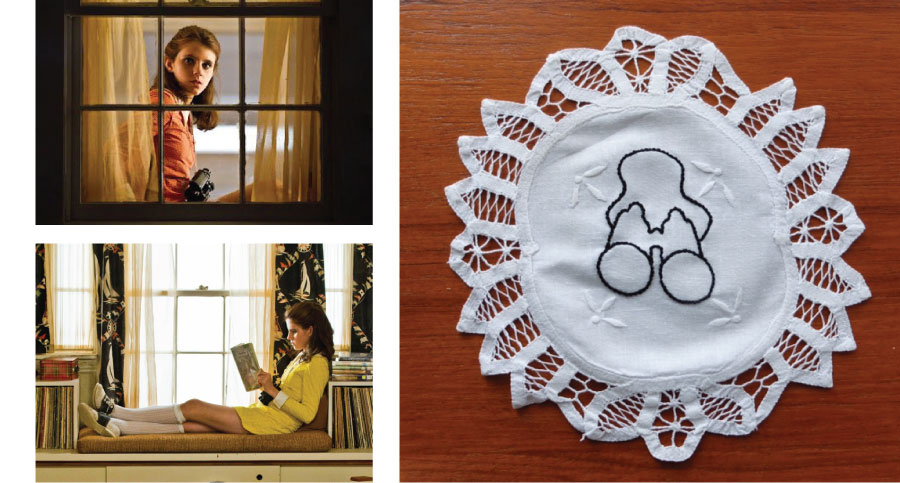 Suzy Bishop, Moonrise Kingdom ,doily, vibes, International Women's Day, Jam