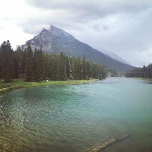 bow river, banff, creative pathway