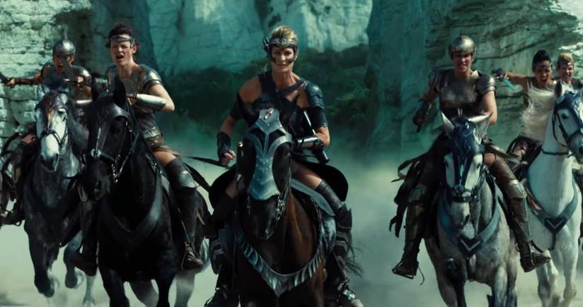 In my head my tribe is partially comprised of horse-riding, armour-wearing, sword-wielding Amazons. Fierce. (Photo courtesy From the Grapevine.)